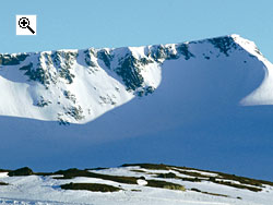 Fannaråken is a graceful mountain offering a variety of ascent routes