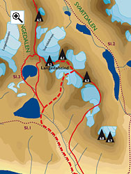 Langedalstind full size map